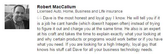 Recommendation MacCallum