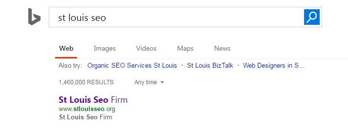 Bing Ranking